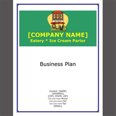 Examples of business plan spreadsheets